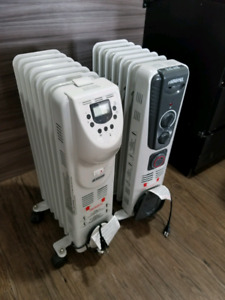 Oil filled radiant heaters