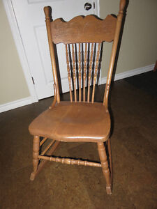 Rocking Chair great for nursing mother