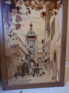 French marquetry art for sale