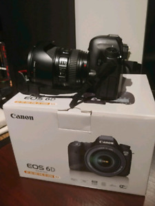 Canon 6D w/ 24-105mm f/4 IS USM lens, NEGOCIABLE