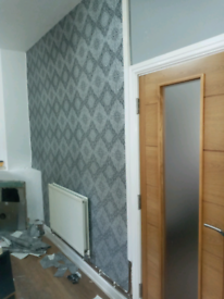 Painting ... Wallpapering