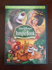 Disney The Jungle Book Platinum Edition DVD Cambridge Kitchener Area image 1