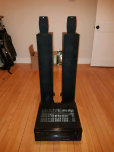 Dahlquist/Paradigm Speakers & Yamaha Receiver