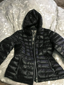 Calvin Klein Womens Standard Down Jacket with Hood (size M)