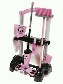 Hetty cleaning trolley