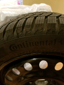 New Continental Winter Tires + Rims. $800 o.b.o