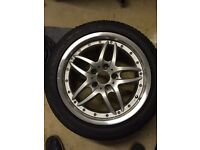 """BMW 5 series alloy wheel spare 17"""" inch"""