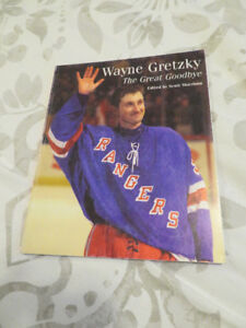 WAYNE GRETZKY / The Great Goodbye by Scott Morrison