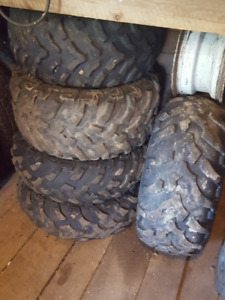 27in ATV/UTV tires and rims for sale