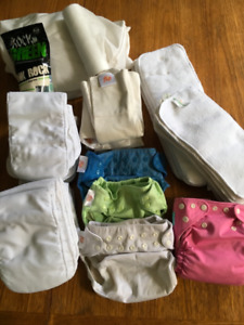 Flip Cloth Diapering System plus extras