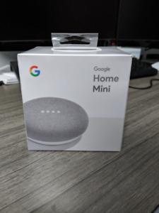 Unopened Google Home Mini