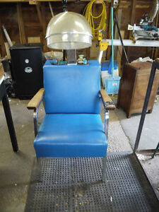 vintage superba hair stylist hair dryer chair