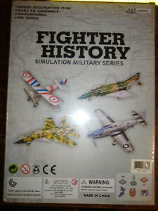 3D Puzzles - FIGHTER HISTORY (4 fighter planes) - BRAND NEW! London Ontario image 2
