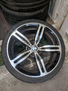 Set of 4 BMW M5 replica rims and tires for sale - $600 OBO