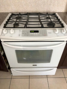 "Kenmore Elite Duel Fuel 30"" Slide In Gas Range"