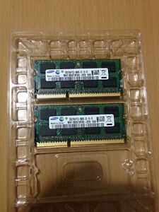Mac Laptop original memory 4GB (2x2GB) Samsung