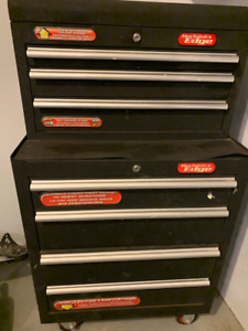 Tool box, 7 drawers, includes contents.