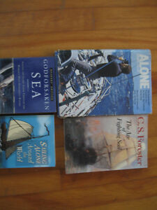 Four Boating Books about sea stories