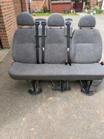 Ford transit mini bus 3 seater