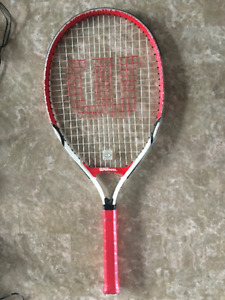 Junior tennis rackets, Wilson and Halex, two for $10