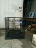 """Wire Pet Crate for sale 36""""L x 23"""" W x 25"""" H ....$50.00"""