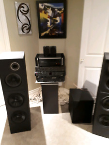 Speakers seulement !Jamo 400 watt parfait condition ! Non nego