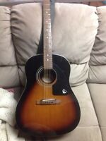 Epiphone aj220 acoustic guitar CHEAP