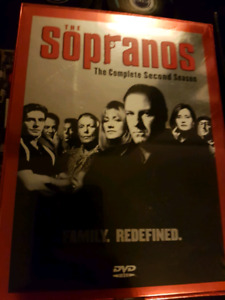 The Sopranos Complete Second Season! NEVER OPENED!