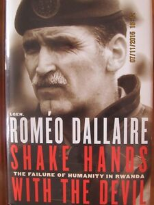 SHAKE HANDS WITH THE DEVIL by Romeo Dallaire (Signed)