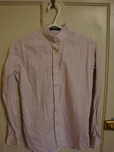 Pink 'Beacon Hill' English Long-Sleeved Shirt, Youth Size 18