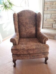 Wing back chairs - matching pair