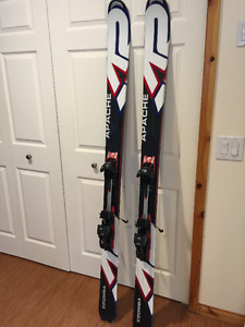 K2 Apache Coomba Skis with AT Bindings, Skins & Crampons