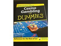 Casino and gambling for dummies by Kevin Blackwood brand new