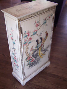 Hand painted small Cabinet