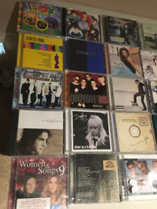 Collection of 51 Audio CD's Pop, Classic, Dance, Rock, Mixed