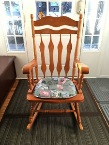 Excellent condition solid wood Rocking chair