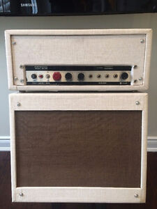 Lifco 630 guitar amp head with matching loaded speaker cab