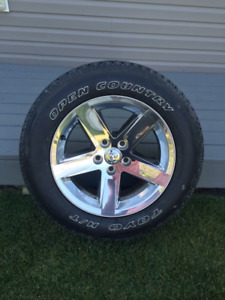 4 Dodge Rims with Tires