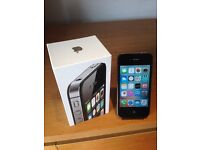 APPLE IPHONE 4 BLACK 8GB OPEN TO ANY NETWORK