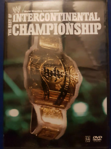 WWE The Best of IC Championship DVD (NEW)