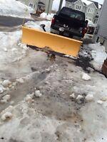 8ft meyers plow an 1000 thundercat sled