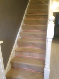 Stairs and hallway underlay
