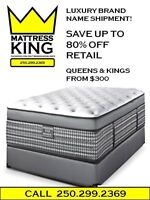 MATTRESS CLEARANCE SALE ON NOW........THE BEST DEALS IN KAMLOOPS