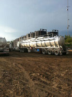Looking for an Experienced lease Operator for Hauling Fluids