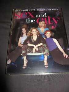 Lot of 6 DVD box sets Sex and the City Seasons 2,3,4,5,6 HBO