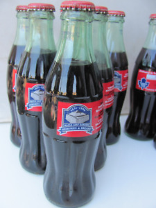 6 Coca Cola Bottles Last Maple Leafs Gardens 1999 & 6 ACC FIrst