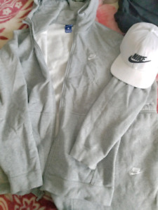 Nike Track Suit with Hat