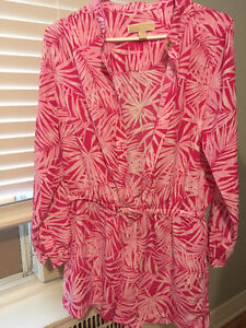 Michael Kors Pink Romper-Perfect condition!!! /Tunique rose MK