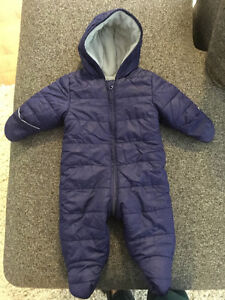 Baby snow suit - excellent condition