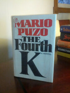 MARIO PUZO's THE FOURTH K (HARDCOVER)  1990